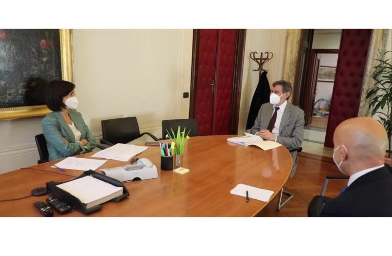 Incontro a Roma fra Marsilio e il Ministro Carfagna