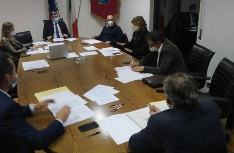 Seduta Giunta Regione Abruzzo 4 marzo 2021