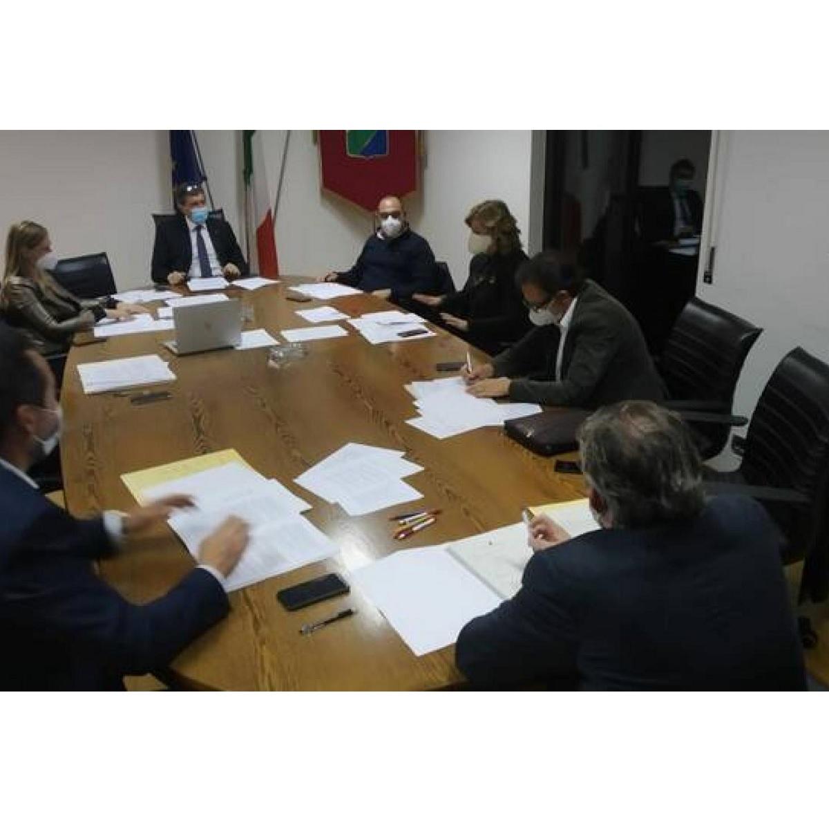 Seduta Giunta Regione Abruzzo 4 marzo 2021 foto