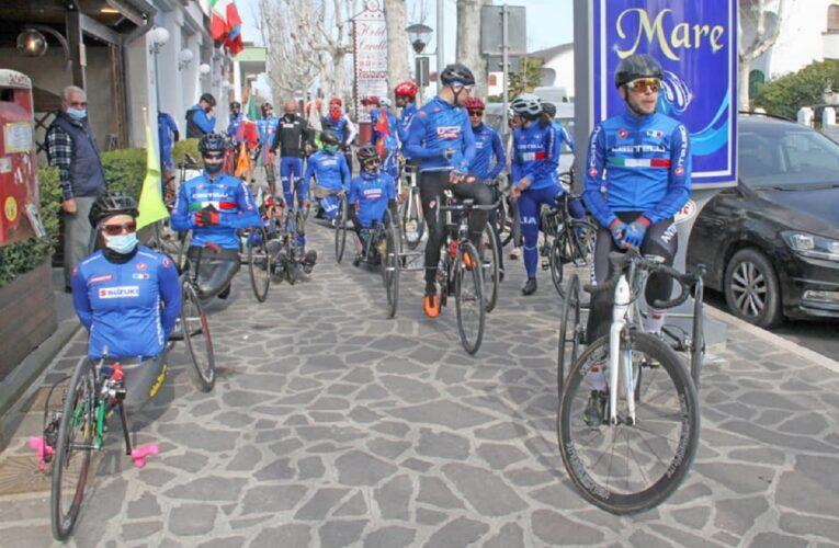 Francavilla al Mare: concluso ritiro dei paraciclisti nazionali