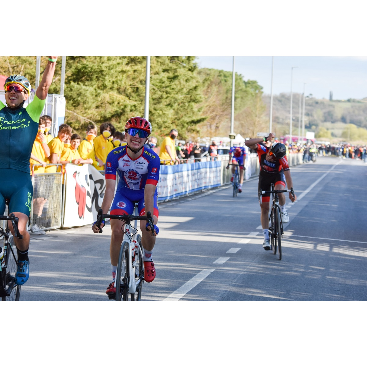 Lorenzo Masciarelli terzo al Trofeo Cicli Saccarelli foto
