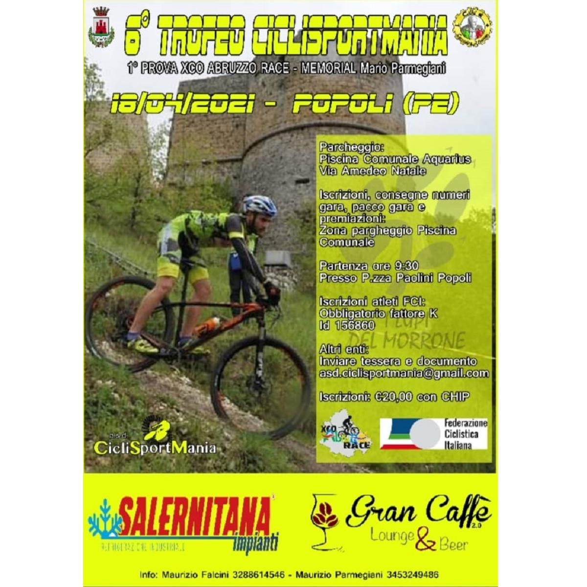 Popoli sesta edizione del Trofeo Ciclisportmania foto