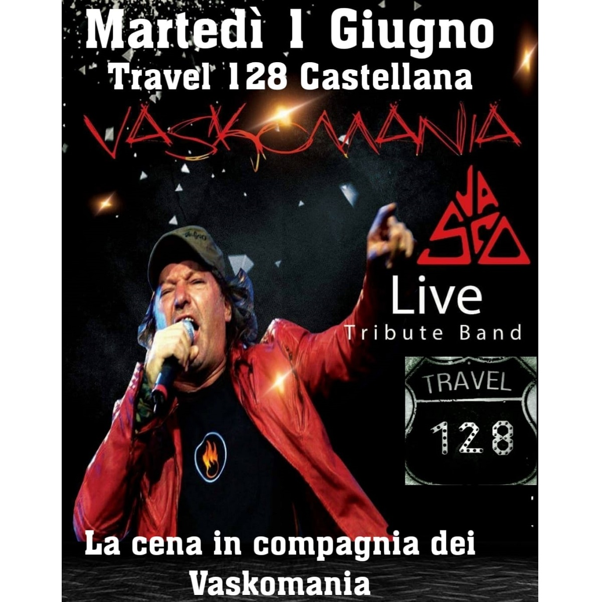 1 Giugno 2021 i VasKomania in concerto a Castellana (Pe) foto