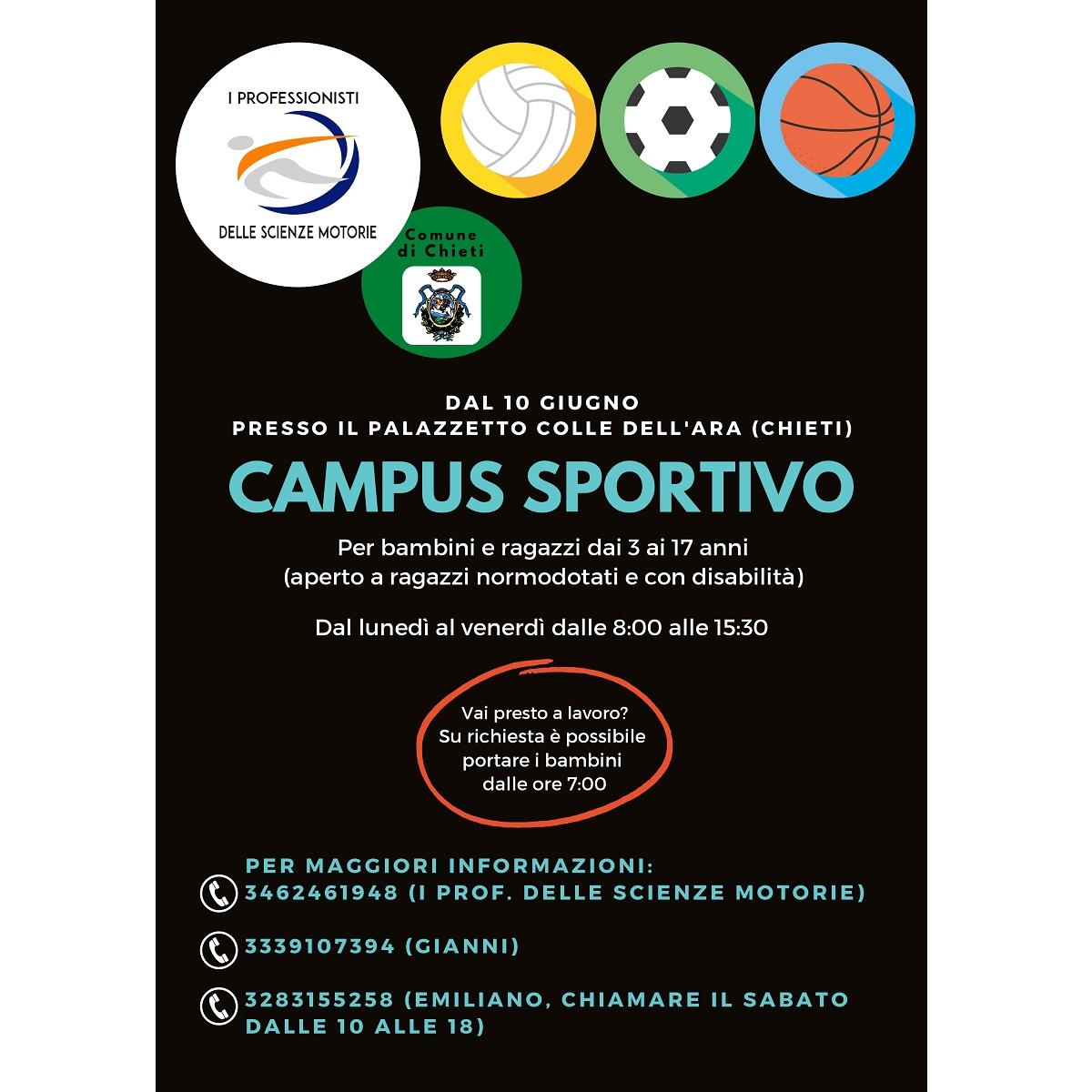 Chieti campus sportivo per bambini e ragazzi foto