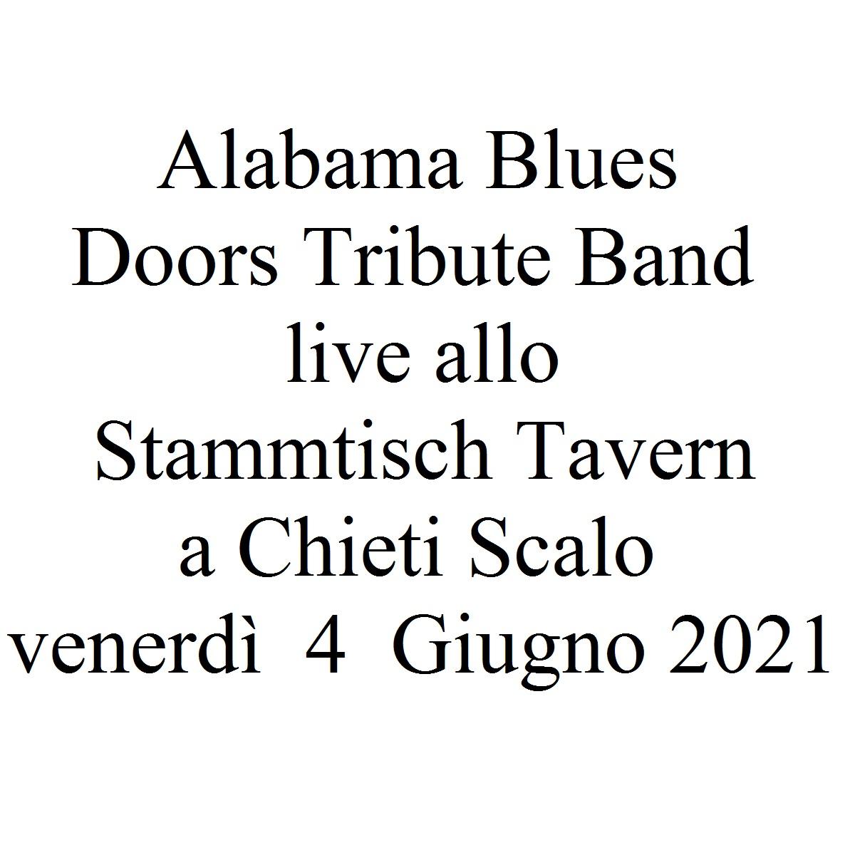 Alabama Blues Doors Tribute Band live 4 Giugno 2021 foto