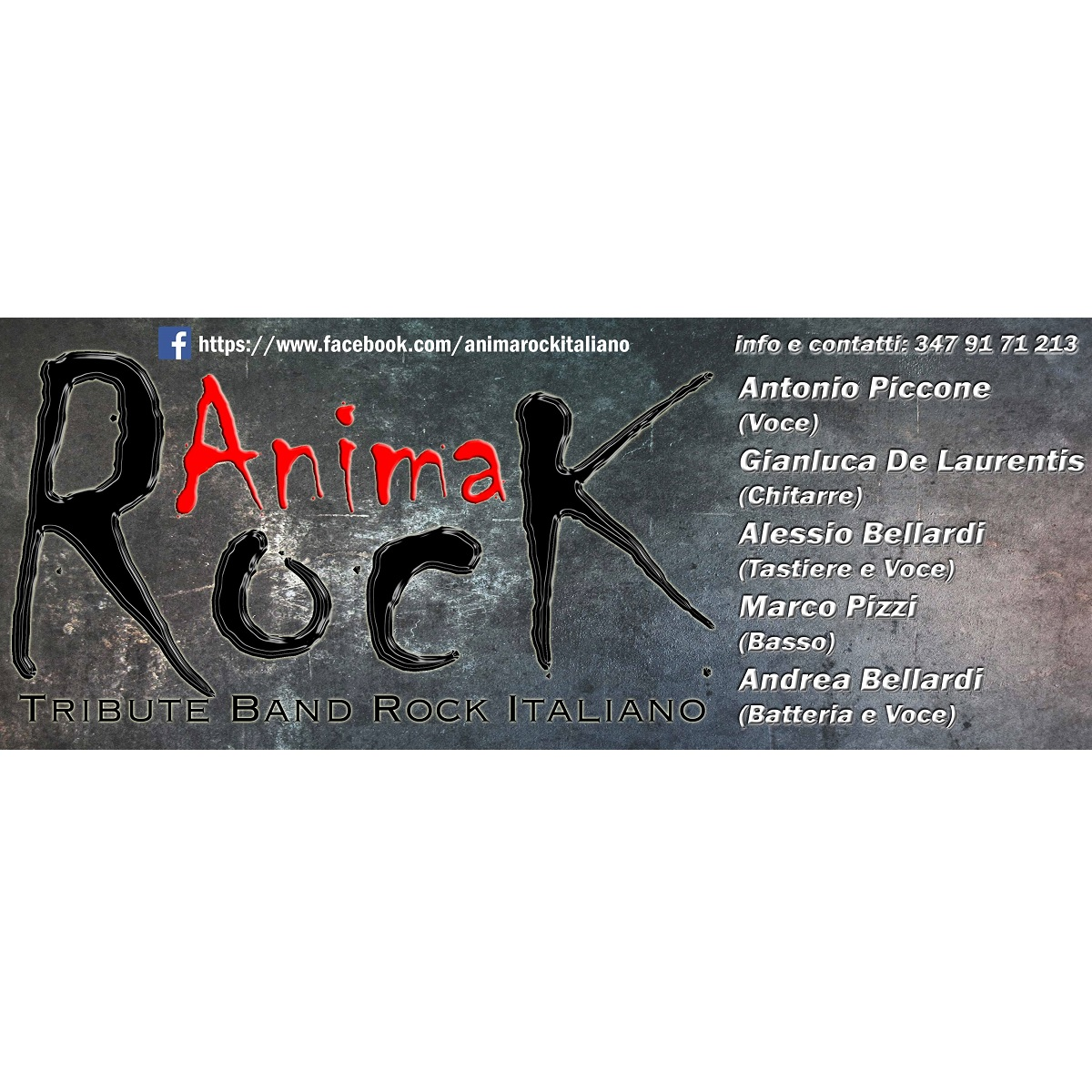 Anima Rock live Fara San Martino sabato 3 luglio 2021 foto