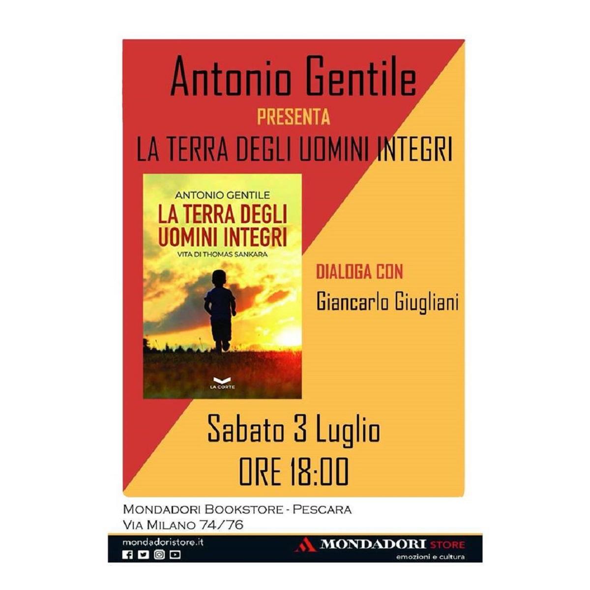 Antonio Gentile presso Mondadori Bookstore Pescara foto