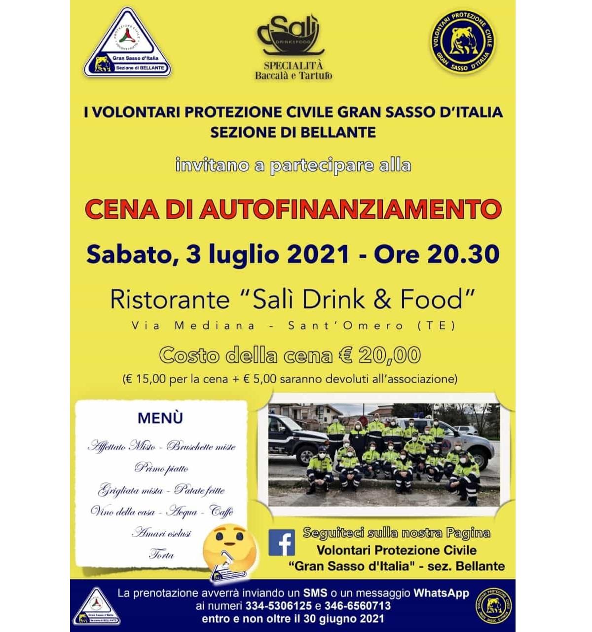 Cena di autofinanziamento presso Salì - Drink & Food foto