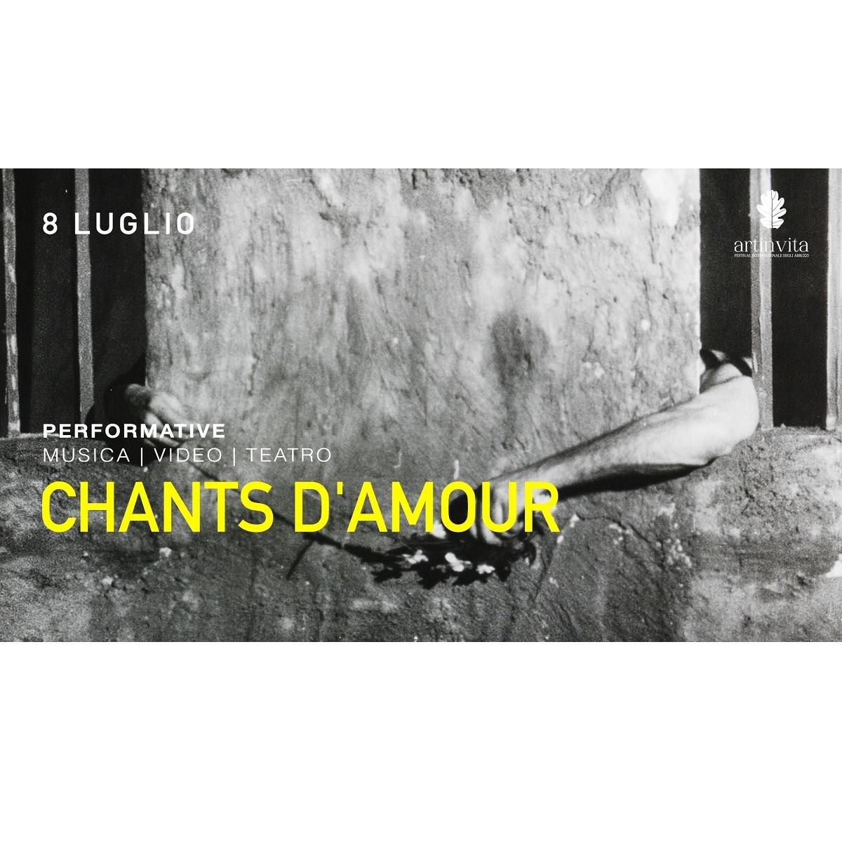 Chants d'Amour a Crecchio giovedì 8 luglio 2021 foto