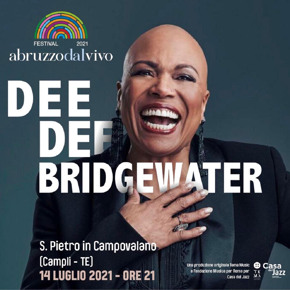 Dee Dee Bridgewater unica data in Abruzzo 14 luglio 2021 foto