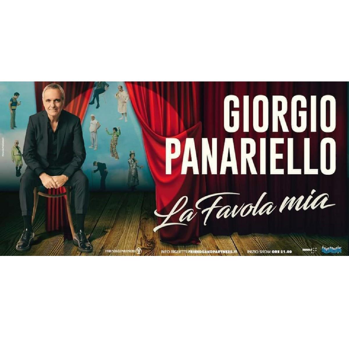 Giorgio Panariello a Pescara giovedì 3 febbraio 2022 foto