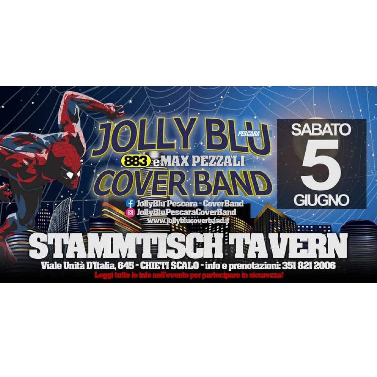 Jolly Blu allo Stammtisch a Chieti Scalo 5 giugno 2021 locandina