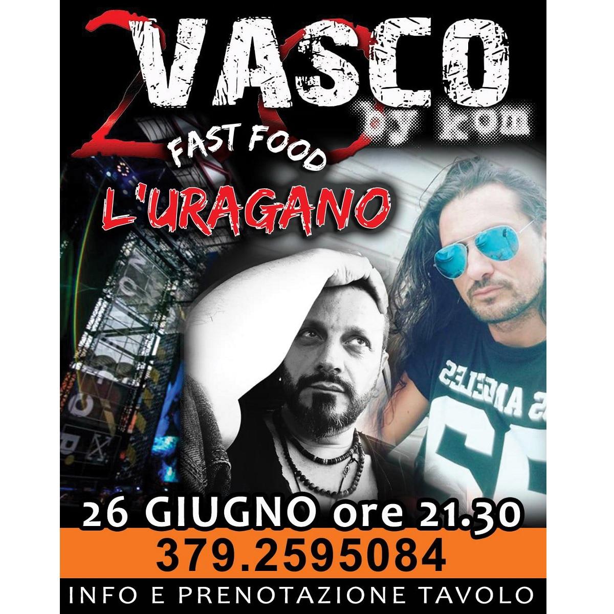 Kom - Vasco Rossi Tribute sabato 26 giugno 2021 foto