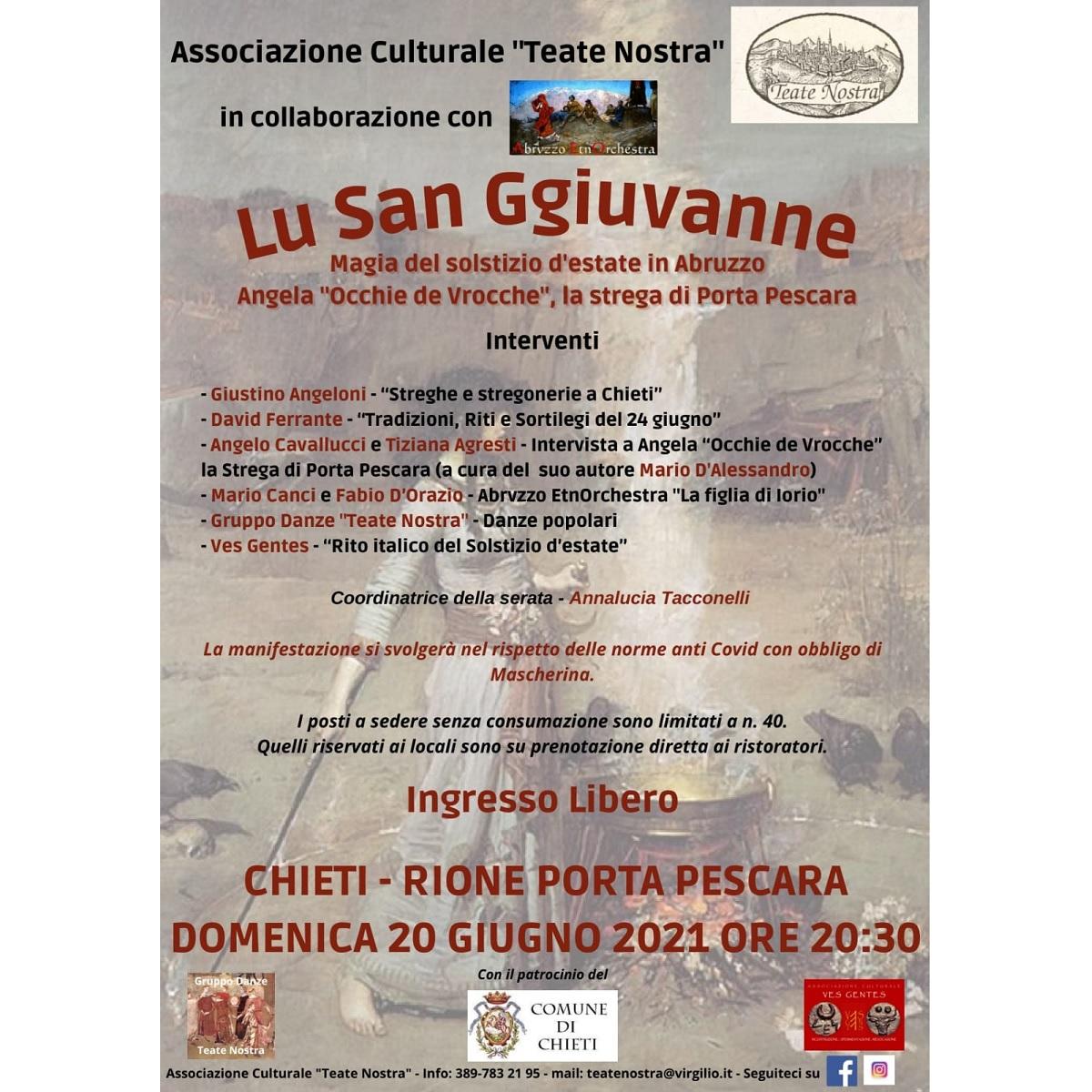 Lu San Ggiuvanne - Magia del Solstizio d'estate in Abruzzo foto