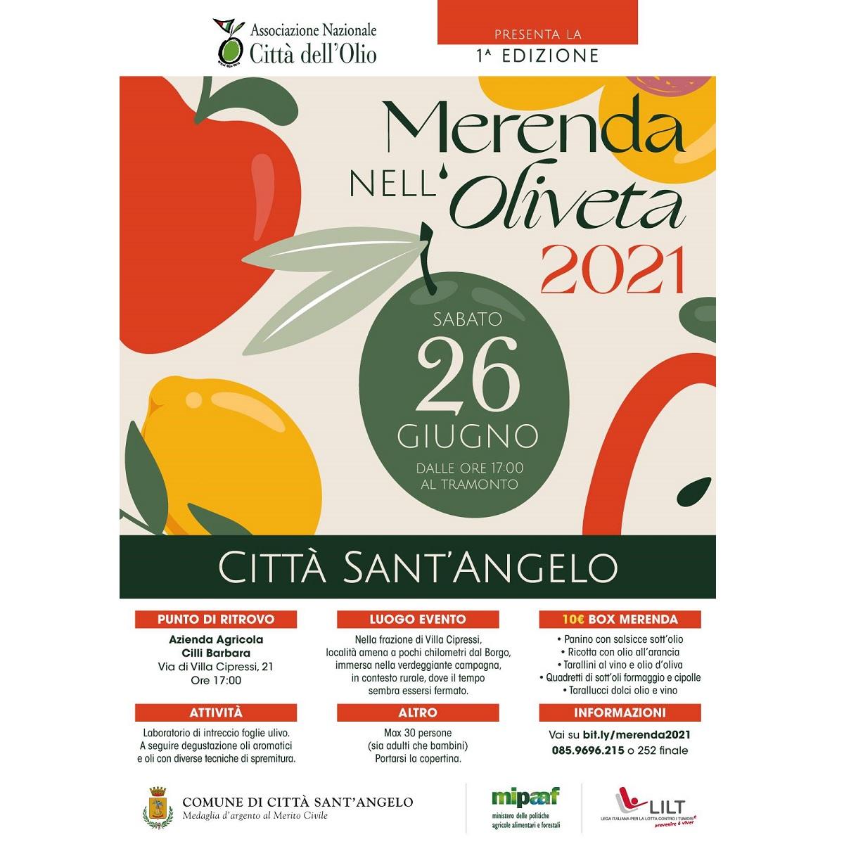 Merenda nell'Oliveta 2021 a Città Sant'Angelo foto