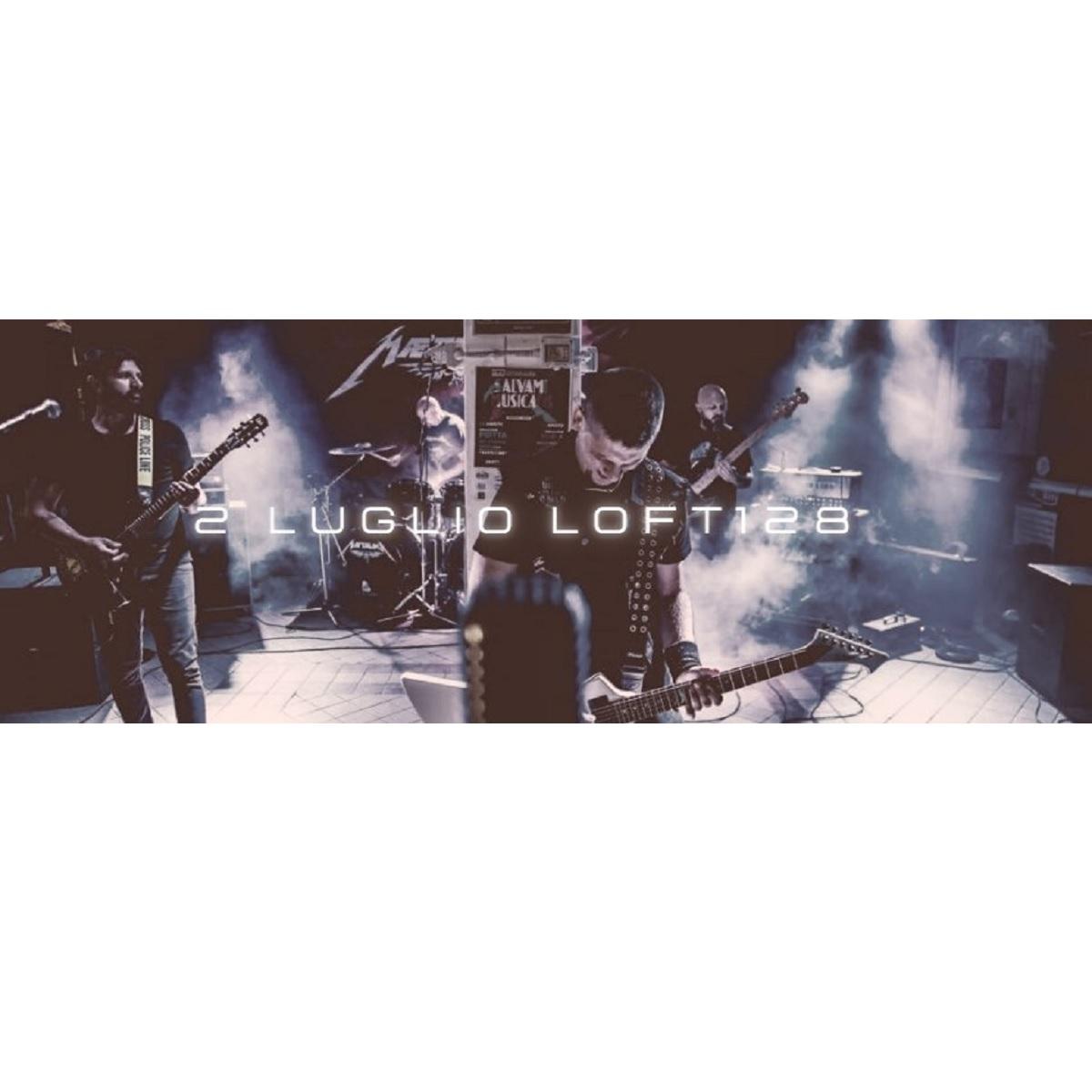 Metallica by Maetalika live tribute al Loft 128 2 luglio 2021 foto