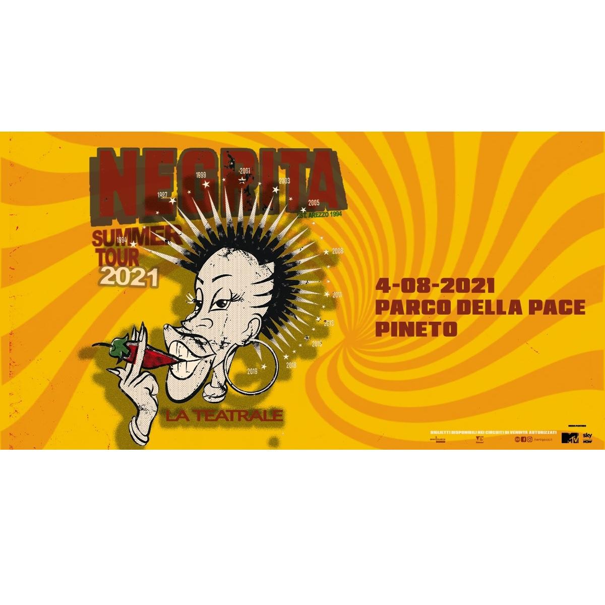 Negrita - La Teatrale Summer Tour 2021 a Pineto foto