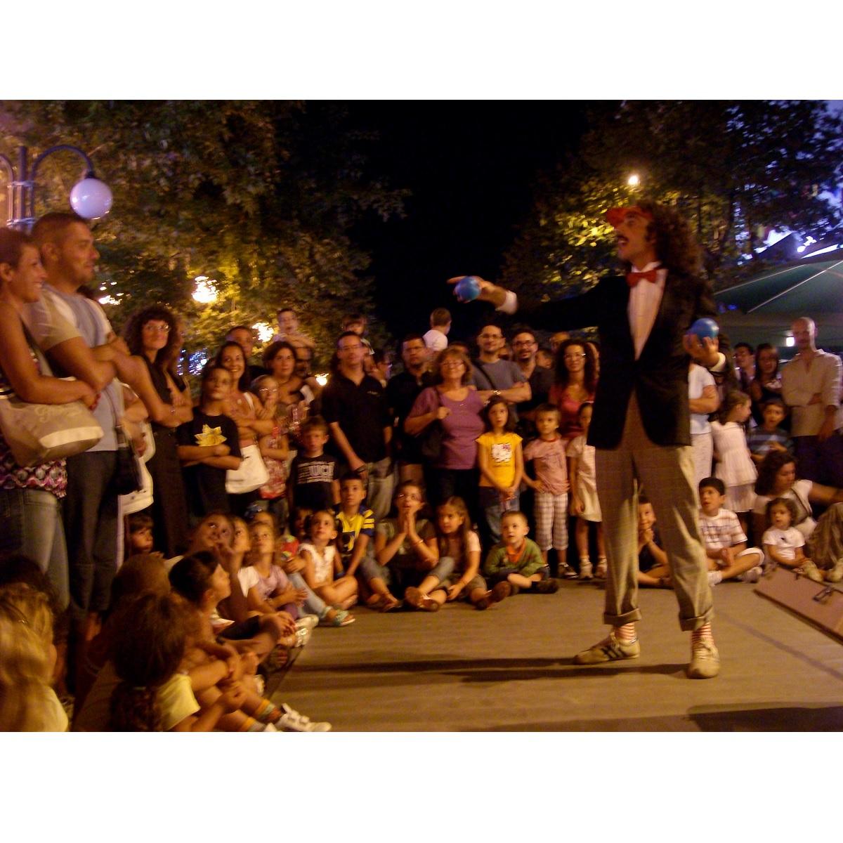Notte del Birillo presso Viale della Riviera a Montesilvano foto
