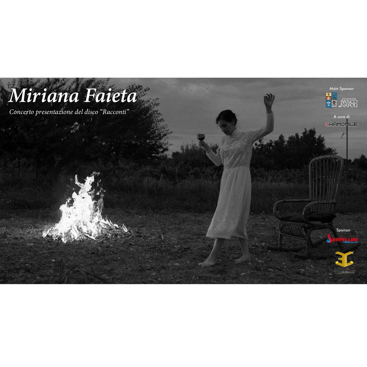 Presentazione dell'EP Racconti di Miriana Faieta a Chieti foto