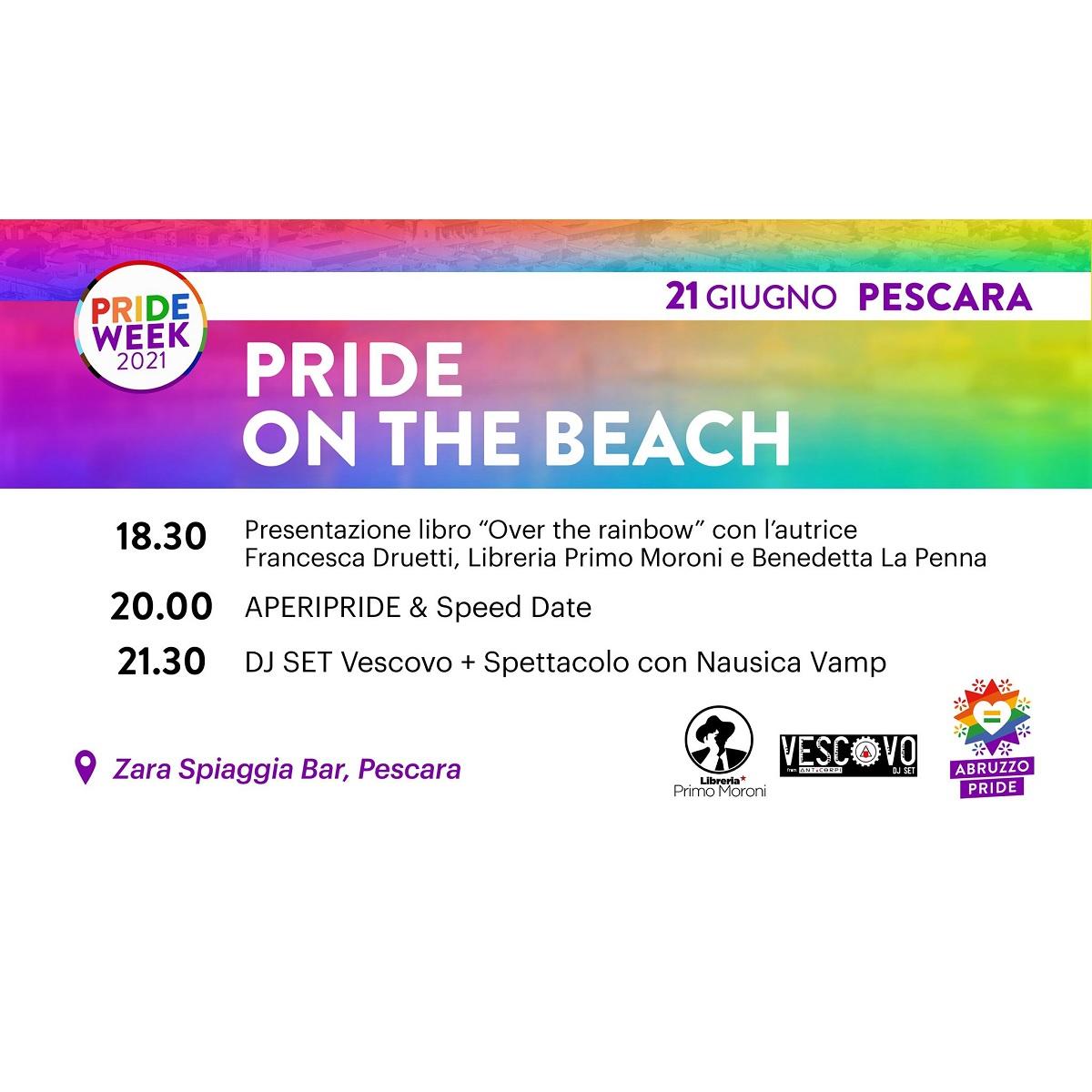 Pride on the beach - Pride Week 2021 a Pescara foto