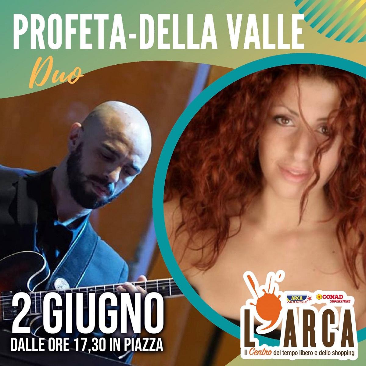 Profeta-Della Valle Duo live a Spoltore mercoledì 2 giugno locandina