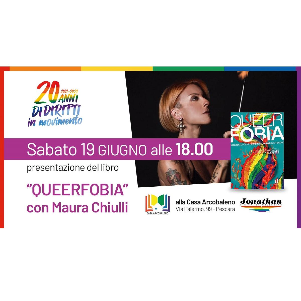 Queerfobia con Maura Chiulli sabato 19 giugno 2021 foto