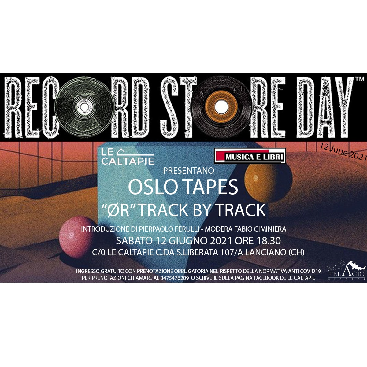 Record Store Day 2021 - Oslo Tapes ØR Track by Track foto