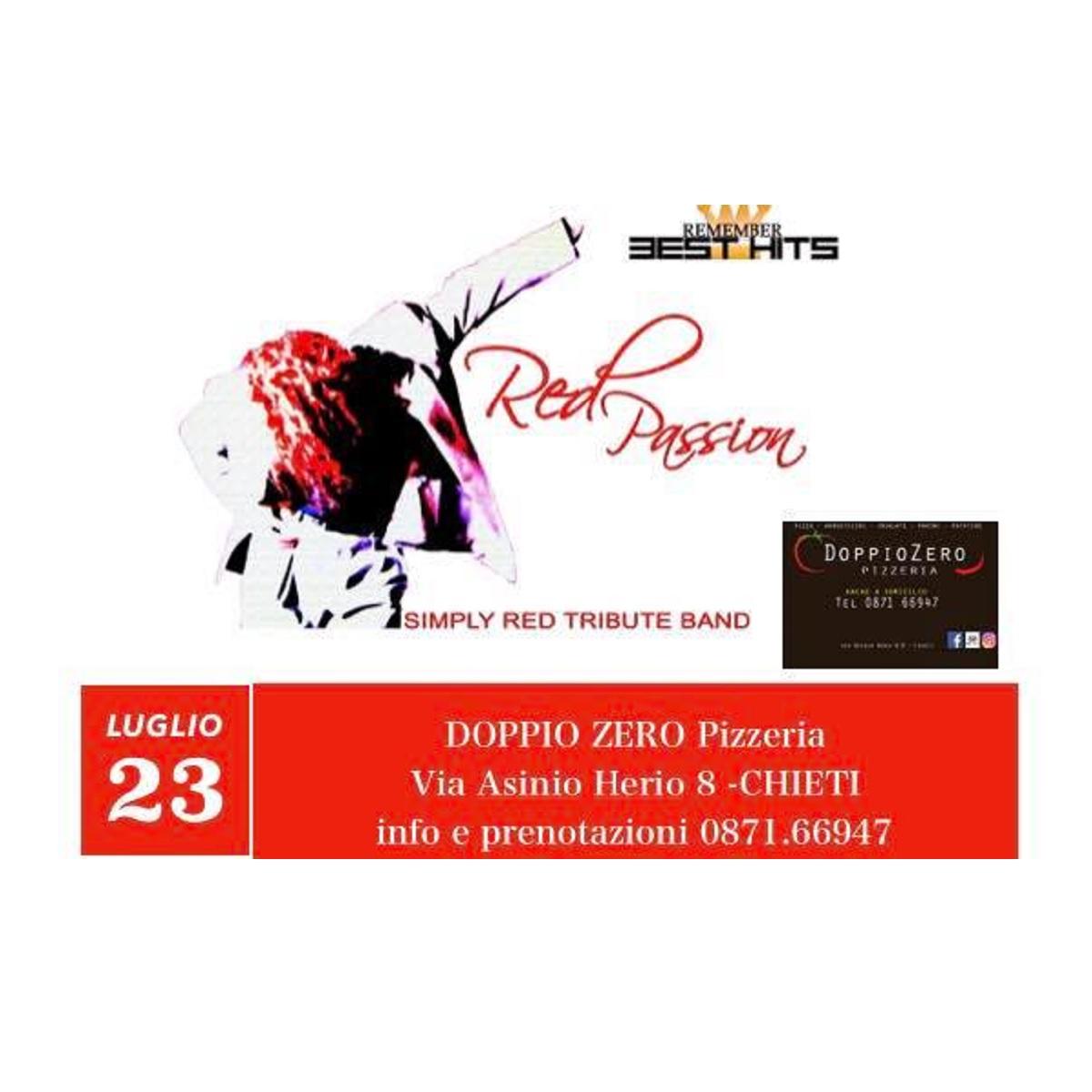 Red Passion al DoppioZero a Chieti 23 luglio 2021 foto