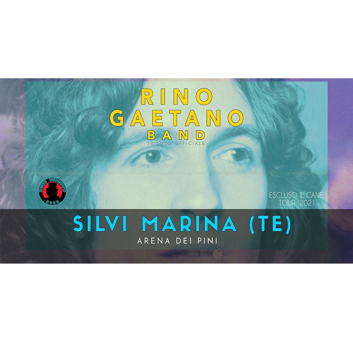 Rino Gaetano Band a Silvi Marina 31 luglio 2021 foto
