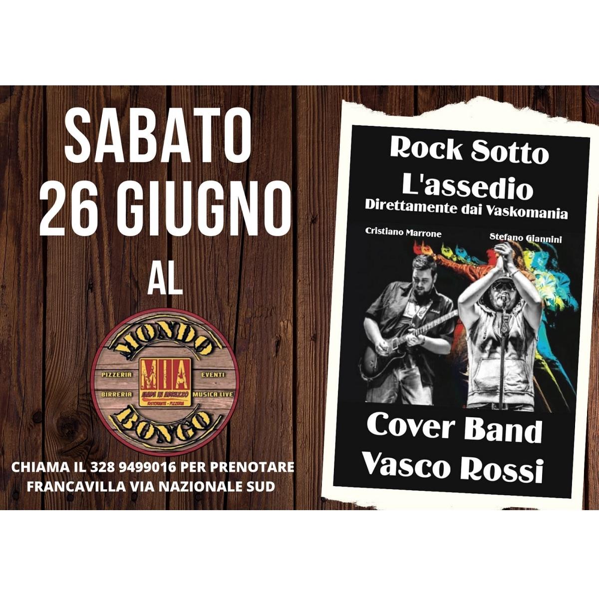 Sabato 26 giugno 2021 cover Vasco Rossi foto