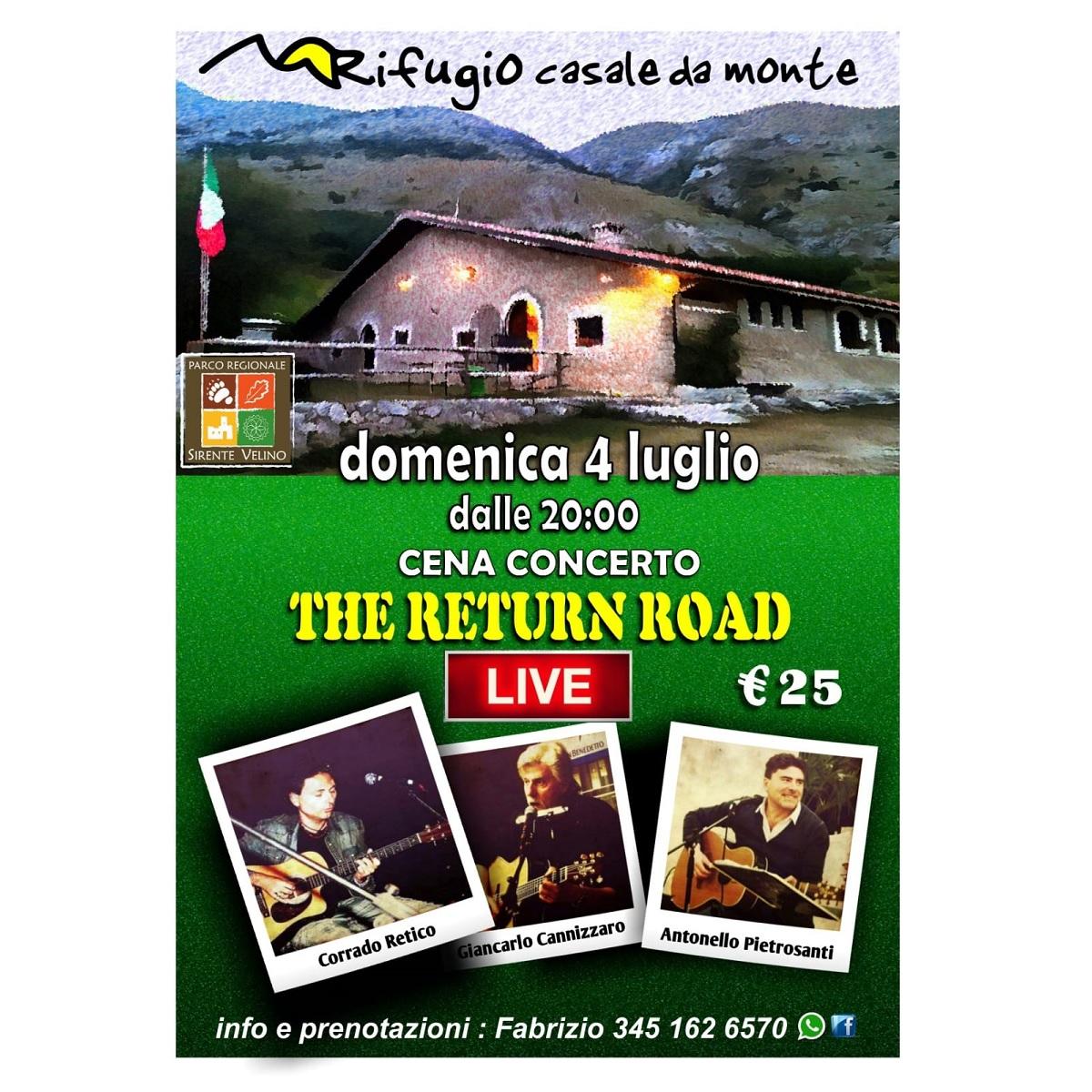 The Return Road a Massa d'Albe 4 luglio 2021 foto