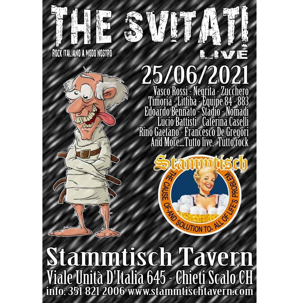 The Svitati a Chieti Scalo venerdì 25 giugno 2021 foto