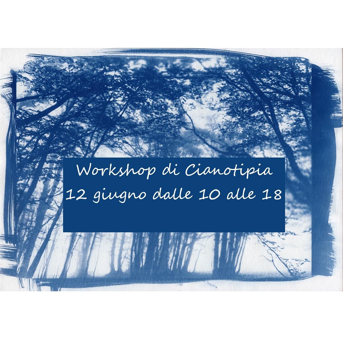 Workshop di Cianotipia sabato 12 giugno 2021 a Pescara foto
