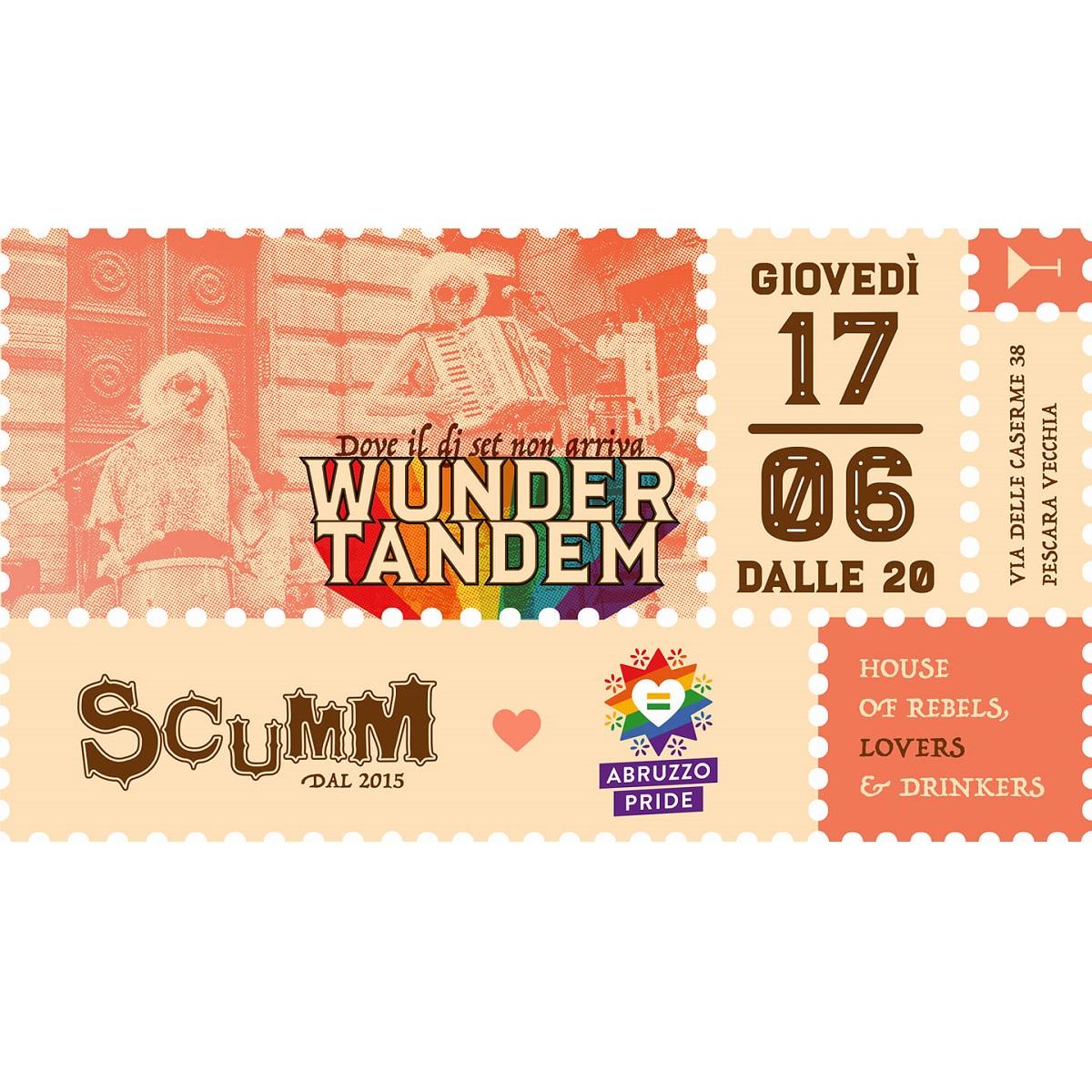 Wunder Tandem - Disco Punk duo live in strada foto