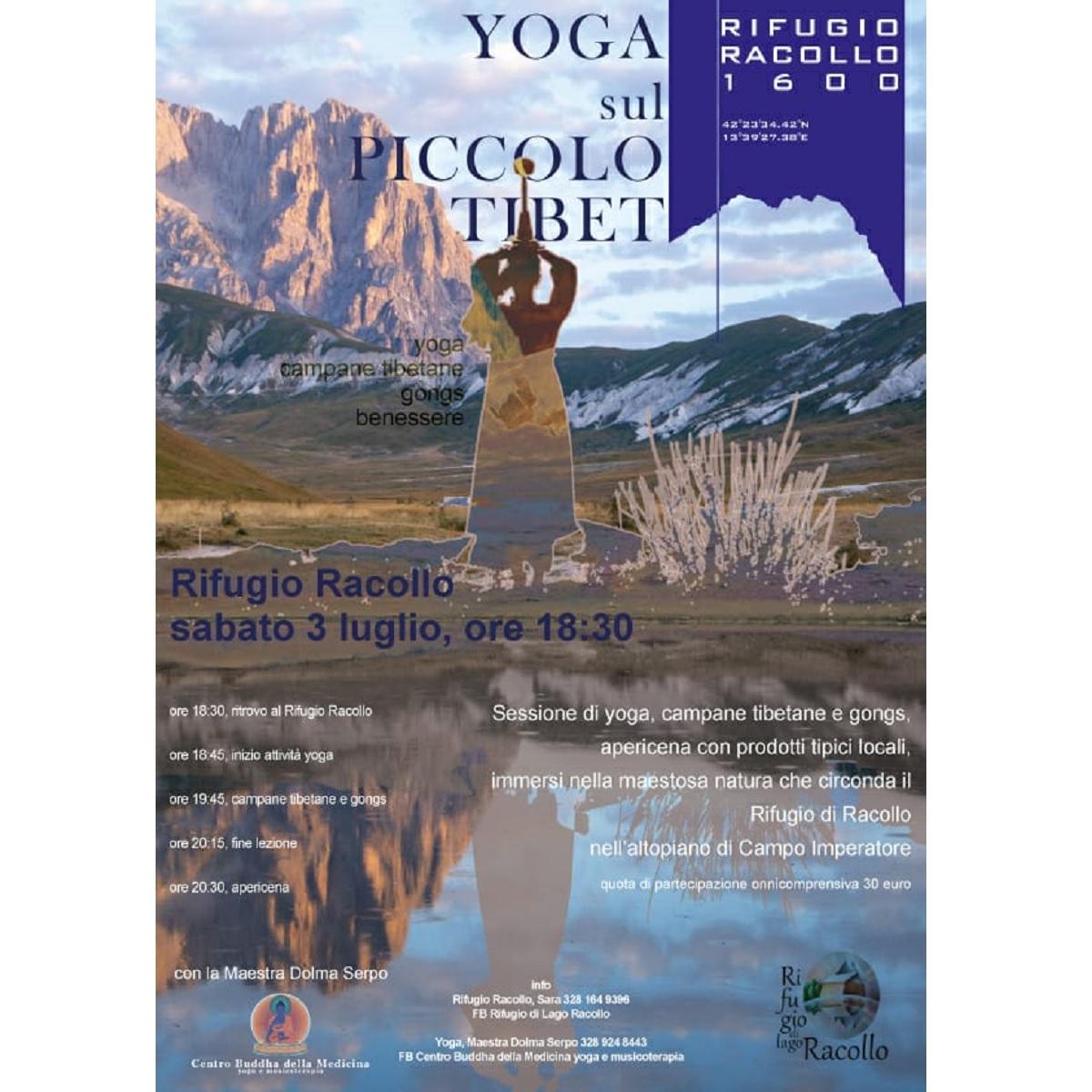 Yoga al tramonto a Santo Stefano di Sessanio 3 luglio 2021 foto