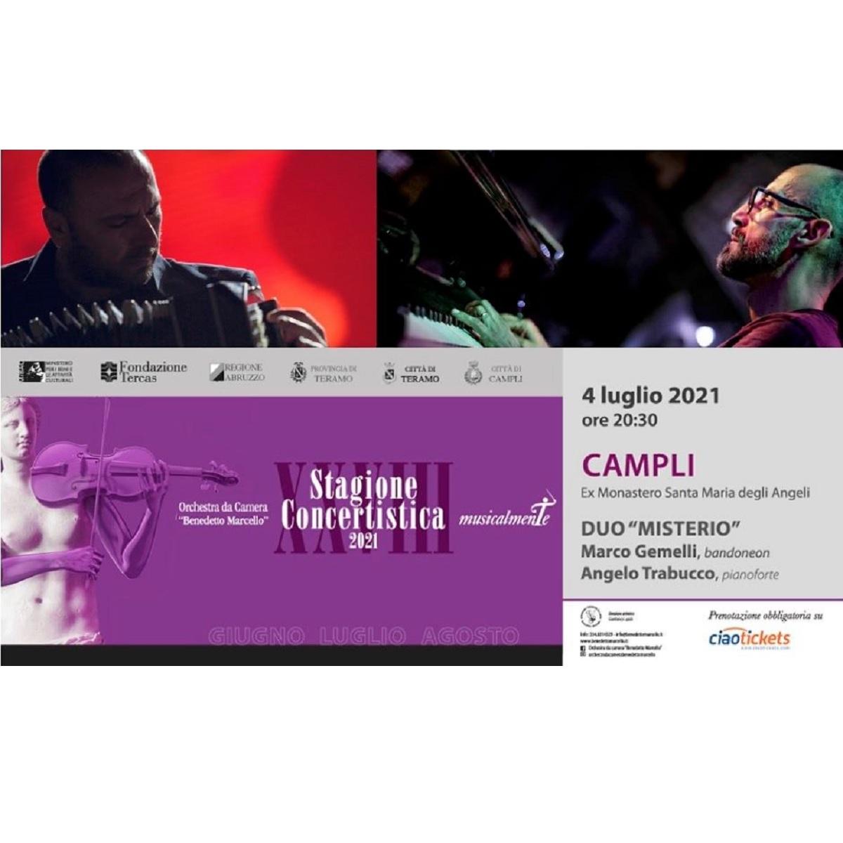 2° appuntamento Stagione Concertistica - MusicalmenTE 2021 foto