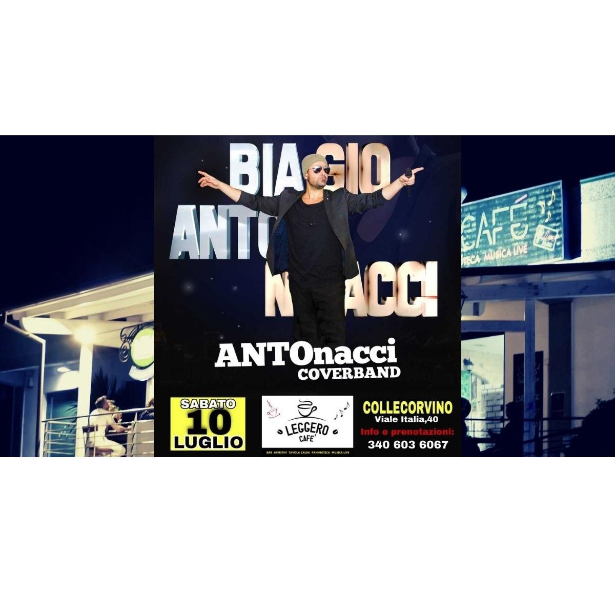 ANTOnacci Cover Band live 10 luglio 2021 foto