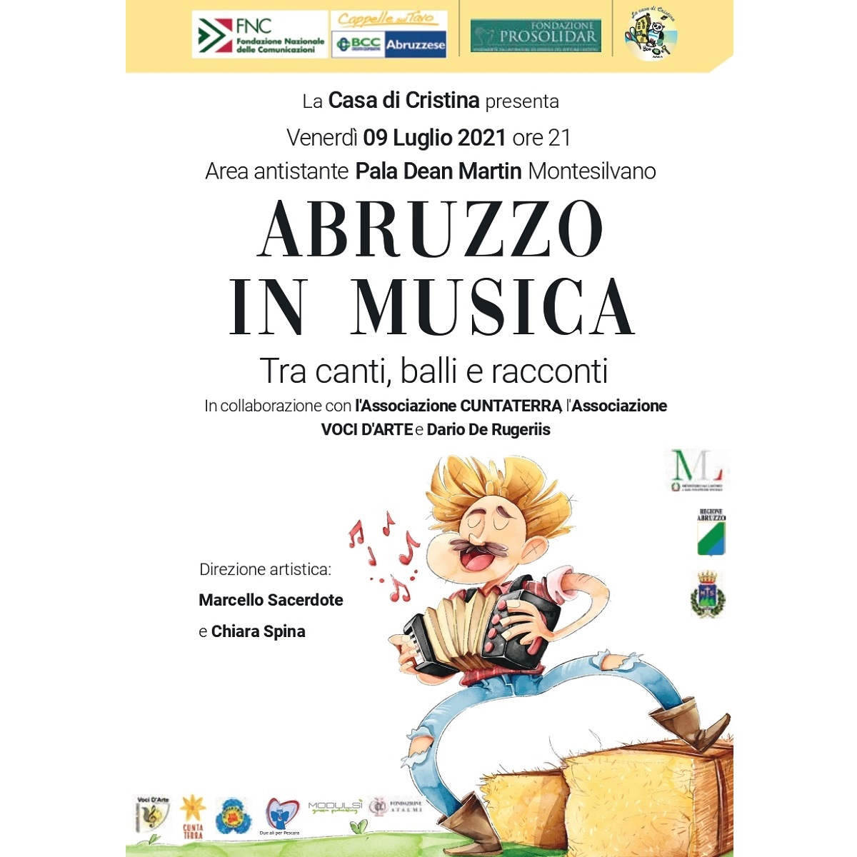 Abruzzo in musica venerdì 9 luglio 2021 a Montesilvano foto