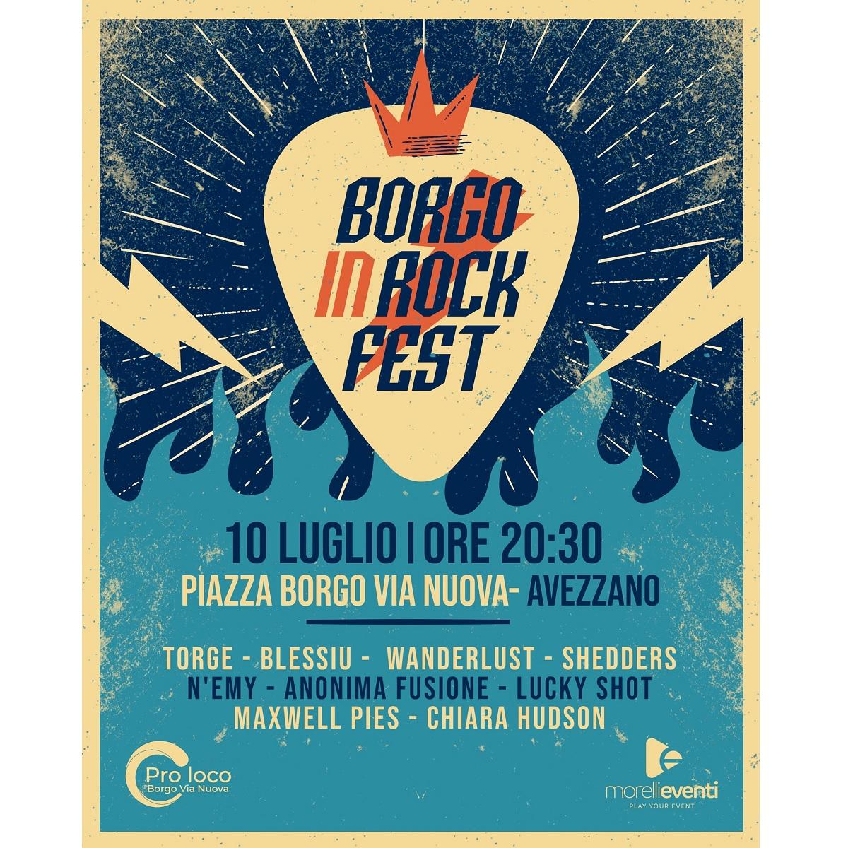 Borgo In Rock Fest 10 luglio 2021 ad Avezzano foto