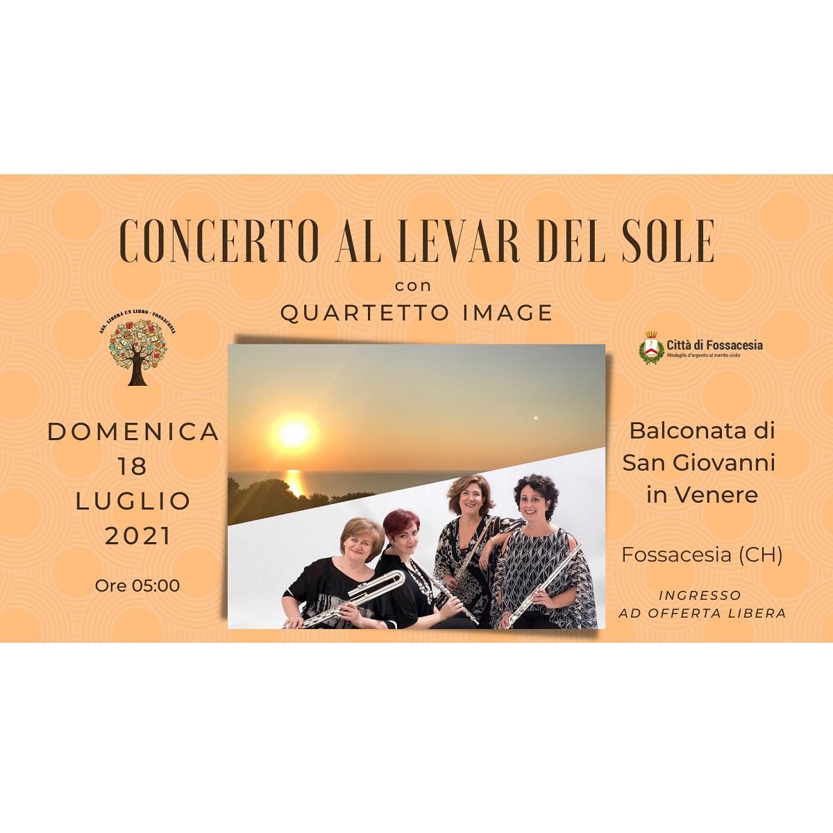 Concerto al Levar del Sole 2021 domenica 18 luglio 2021 locandina