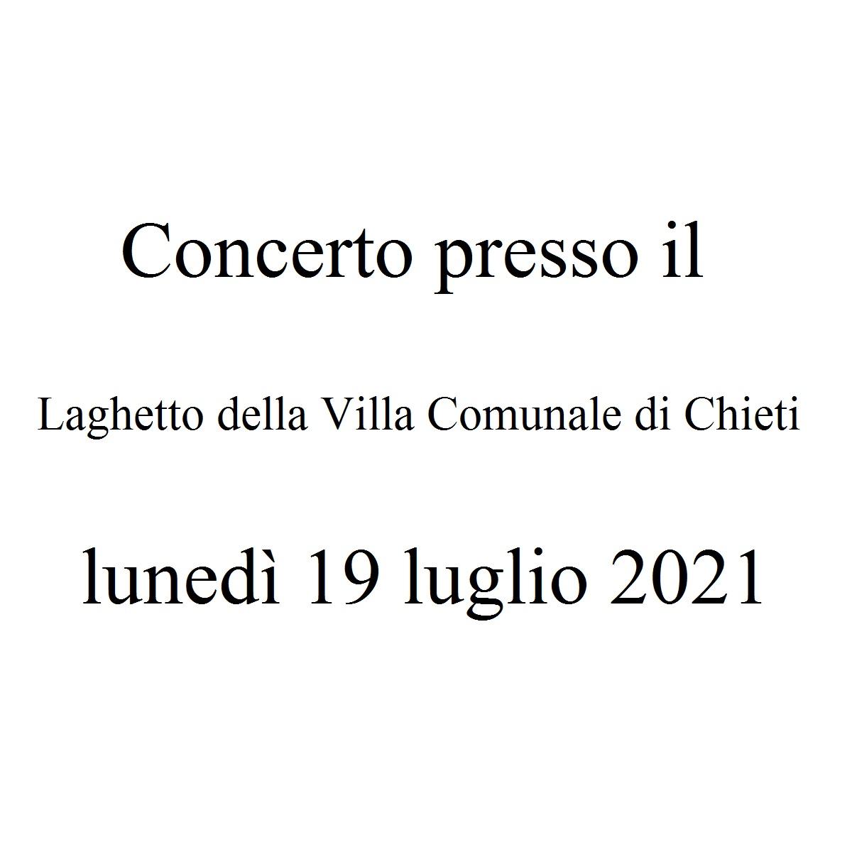 Concerto presso la Pescheria a Chieti 18 luglio 2021 foto