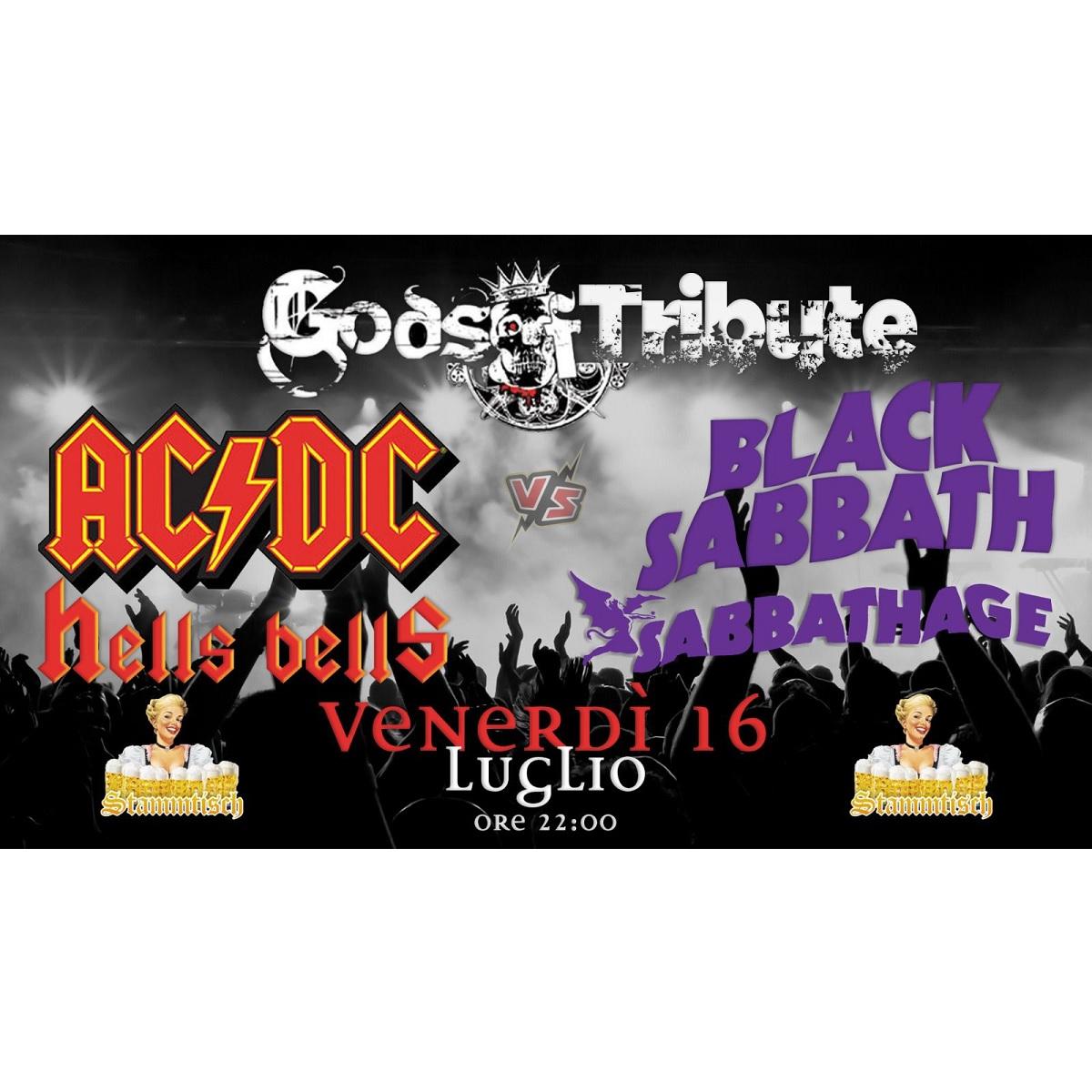 Cover degli AcDc e dei Black Sabbath 16 luglio 2021 foto