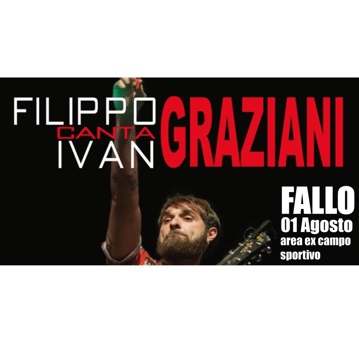 Filippo Graziani a Fallo domenica 1 agosto 2021 foto