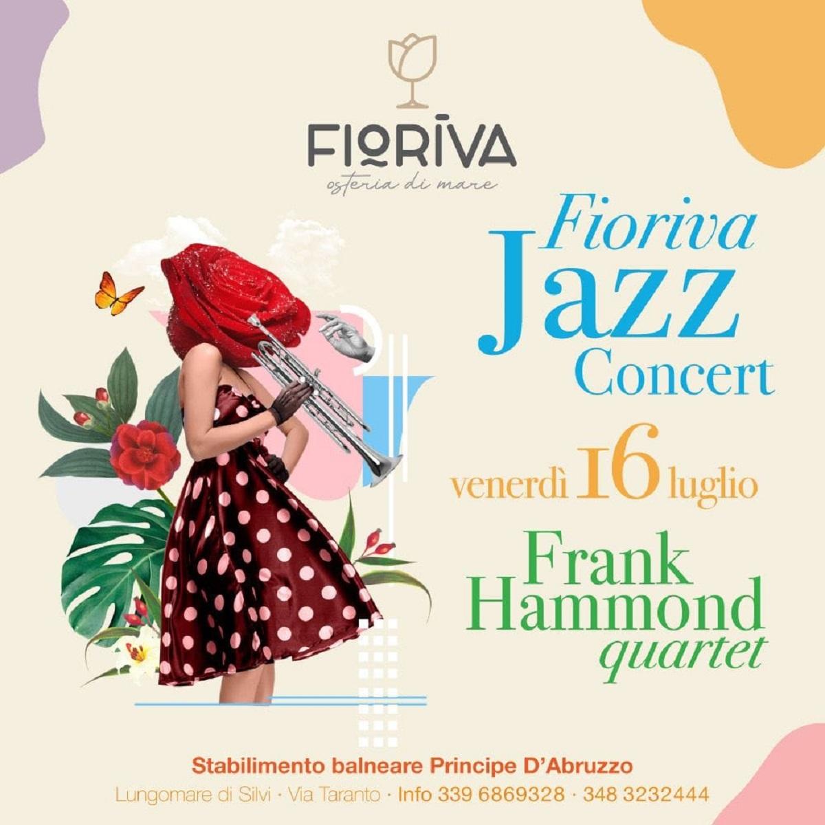 Fioriva Jazz Concert venerdì 16 luglio 2021 foto