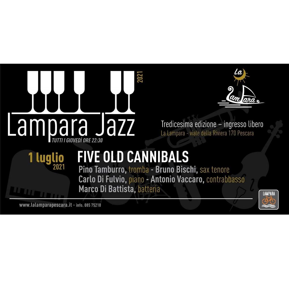 Five Old Cannibals presso La Lampara 1 luglio 2021 foto