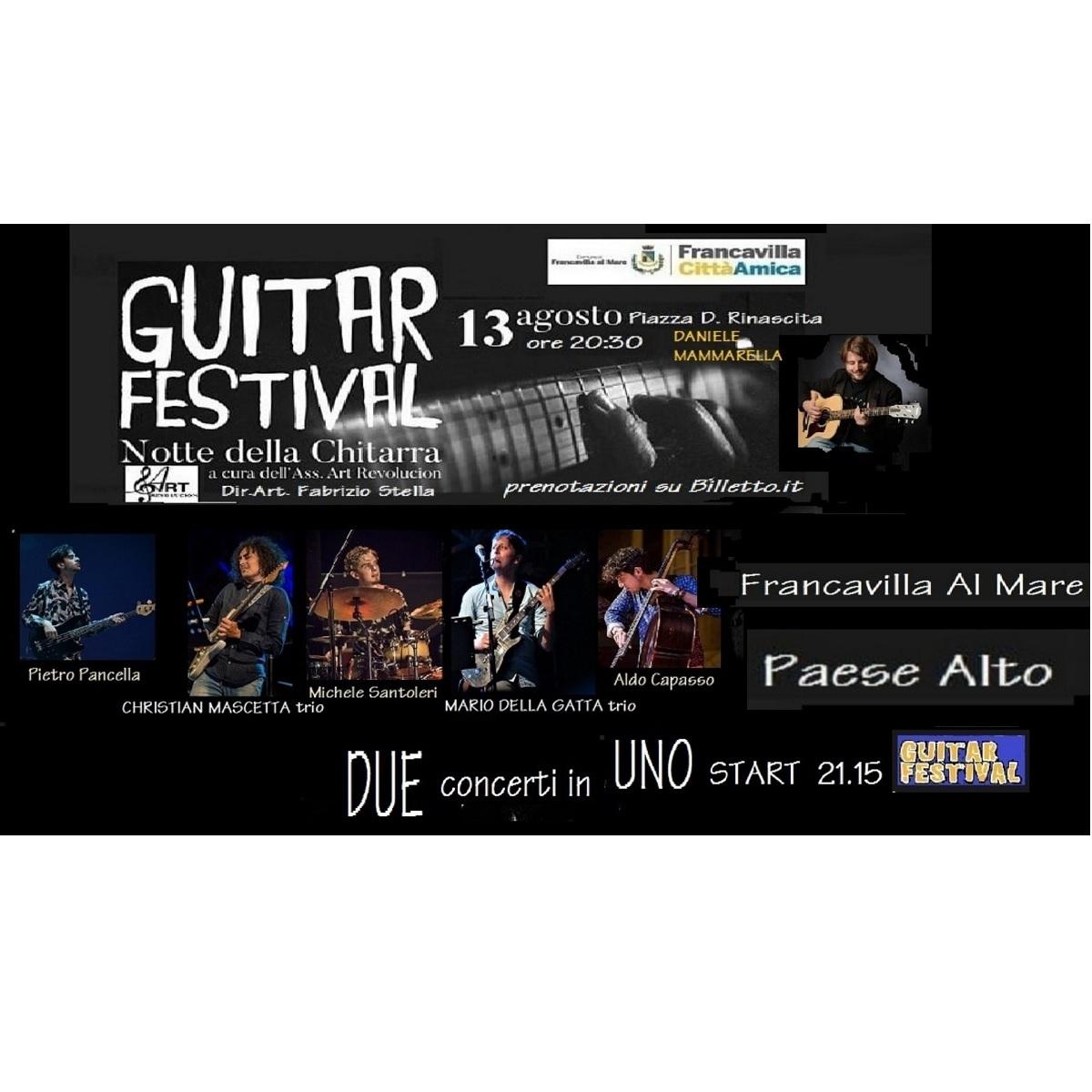 Guitar Festival a Francavilla al Mare 13 agosto 2021 foto