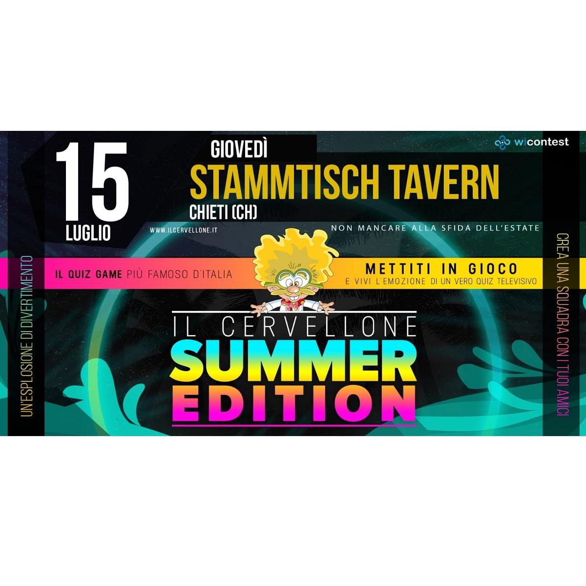 Il Cervellone allo Stammtisch Tavern 15 luglio 2021 foto