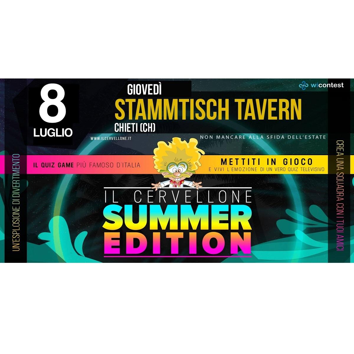 Il Cervellone allo Stammtisch Tavern 8 luglio 2021 foto