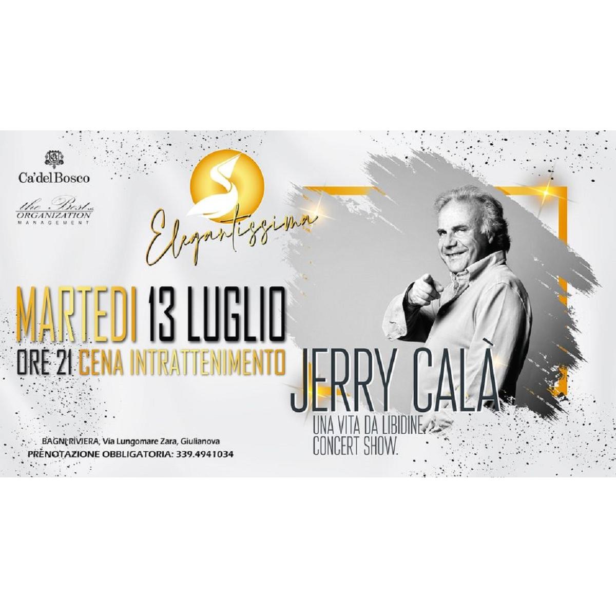 Jerry Calà martedì 13 luglio 2021 Bagni Riviera foto