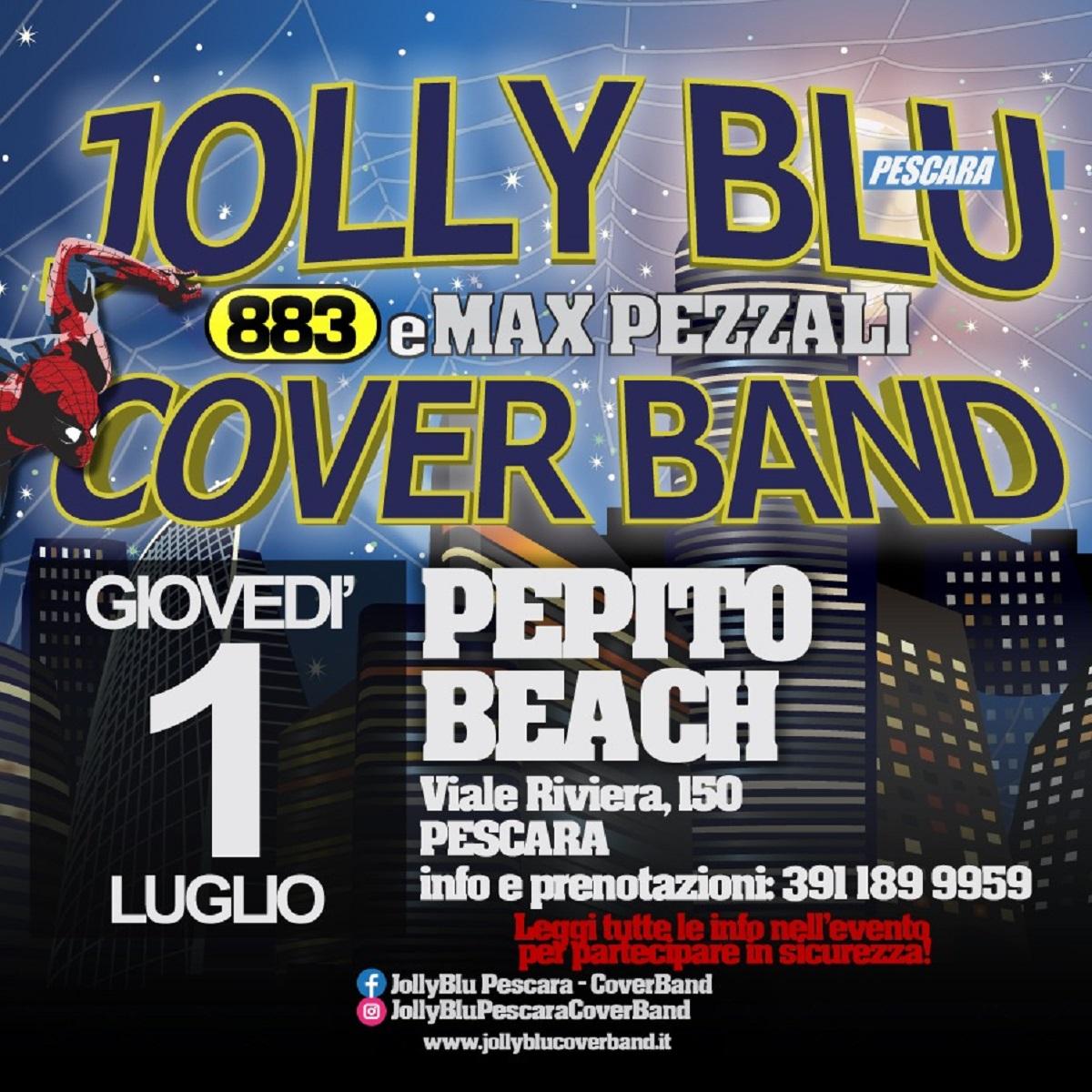 Jolly Blu - 883 e Max Pezzali cover band 1 luglio 2021 foto
